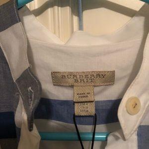 Burberry Dresses - Burberry plaid sundress size 4